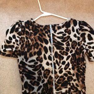 LuLaRoe Dresses - LulaRoe Amelia leopard Dress